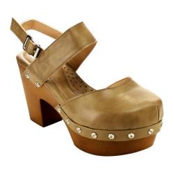 Women's L & C Fanny-2 Closed Toe Sandal Taupe
