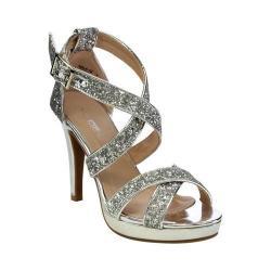 Women's L & C Nala-13 Strappy Sandal Silver