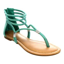 Women's L & C Rio-01 Thong Sandal Light Blue