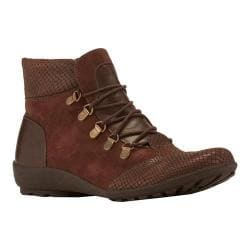 Women's Walking Cradles Hemingway Bootie Brown Textured Multi