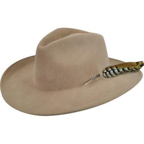 3116a03cf682d Men s Bailey Western Calico Cowboy Hat Camel