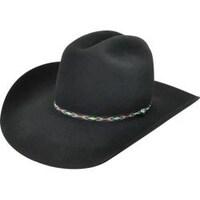 Shop Bailey Western Cowboy Hat Mens Lucious Cord Band Turkey Feather ... e020dffc19c6