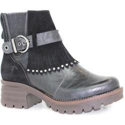 Women's Dromedaris Krissy Ankle Boot Black Leather