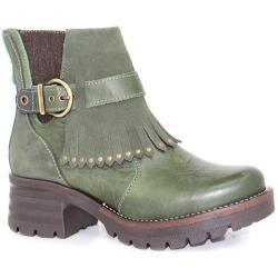 Women's Dromedaris Krissy Ankle Boot Forest Leather