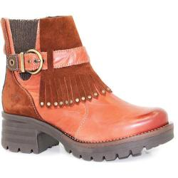 Women's Dromedaris Krissy Ankle Boot Rusty Leather - Thumbnail 0