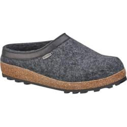 Giesswein Acadia Clog Slipper Charcoal Wool
