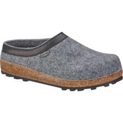 Giesswein Acadia Clog Slipper Slate Wool