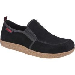 Giesswein Alpen Closed Back Clog Black Suede/Leather