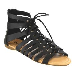 Women's L & C Spencer-7 Gladiator Sandal Black