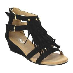 Women's L & C Suzie-02 Wedge Sandal Black