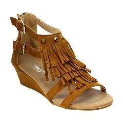 Women's L & C Suzie-02 Wedge Sandal Camel