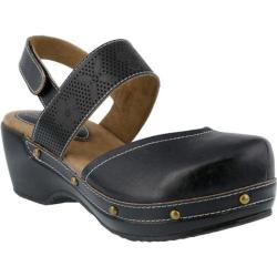 Women's L'Artiste by Spring Step Amadi Clog Black Leather