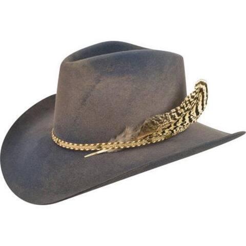 229767d67fded Men s Bailey Western Lucius Cowboy Hat New Slate Mole Swirl