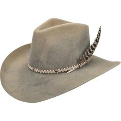 Men's Bailey Western Lucius Cowboy Hat Camel/Lite Steel Swirl