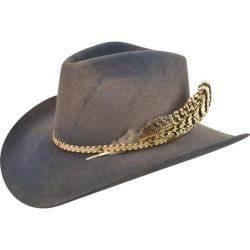 Men's Bailey Western Lucius Cowboy Hat New Slate/Mole Swirl