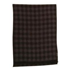 Men's Ben Sherman Woven Checkered Scarf Black