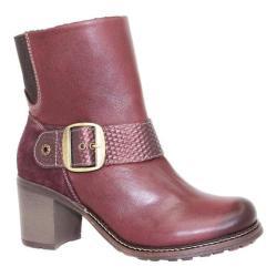 Women's Dromedaris Holly Boot Burgundy Leather