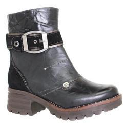Women's Dromedaris Kendy Ankle Boot Black Leather