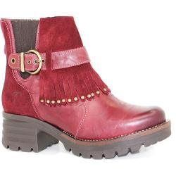 Women's Dromedaris Krissy Ankle Boot Ruby Leather