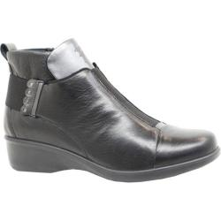 Women's Dromedaris Rihana Ankle Boot Black Leather