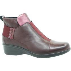 Women's Dromedaris Rihana Ankle Boot Violet Leather