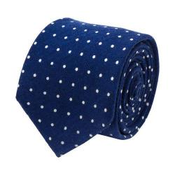 Men's Cufflinks Inc Polka Dot Tie Navy