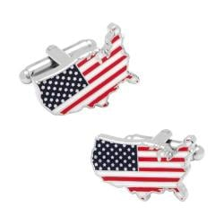 Men's Cufflinks Inc USA Stars and Stripes Cufflinks Multi