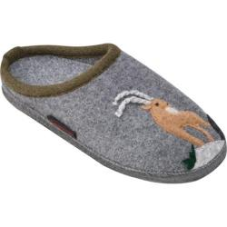 Women's Giesswein Katahdin Clog Slipper Slate Wool