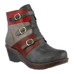 Women's L'Artiste by Spring Step Bohani Bootie Gray Multi Leather