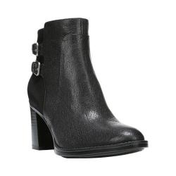 Women's Naturalizer Falza Ankle Boot Black Leather/Nubuck