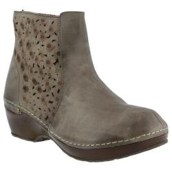 Women's L'Artiste by Spring Step Lene Bootie Gray Leather