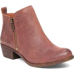Women's Lucky Brand Basel Bootie Russet Suede (EXCLUSIVE)