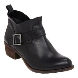 Women's Lucky Brand Boomer Bootie Black Leather