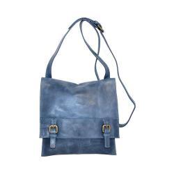Women's Nino Bossi Carnation Bloom Cross Body Bag Washed Blue