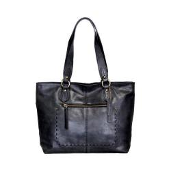 Women's Nino Bossi Carnation Petal Tote Handbag Black