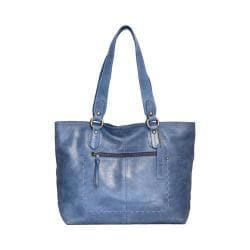 Women's Nino Bossi Carnation Petal Tote Handbag Washed Blue