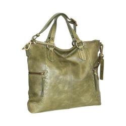 Women's Nino Bossi Petunia Tote Handbag Green