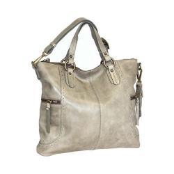 Women's Nino Bossi Petunia Tote Handbag Stone