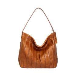 Women's Nino Bossi Rambling Rose Hobo Handbag Cognac