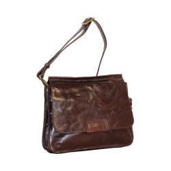 Women's Nino Bossi Rose Petal Cross Body Bag Chocolate