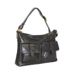 Women's Nino Bossi Rose Tea Cross Body Bag Black