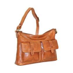 Women's Nino Bossi Rose Tea Cross Body Bag Cognac