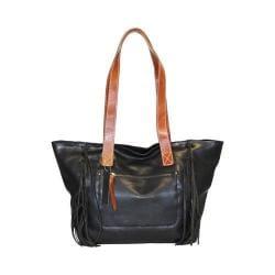 Women's Nino Bossi Shasta Daisy Tote Handbag Black