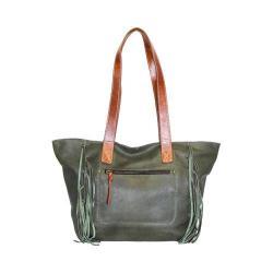 Women's Nino Bossi Shasta Daisy Tote Handbag Pine
