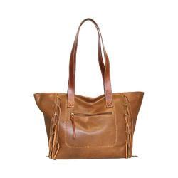 Women's Nino Bossi Shasta Daisy Tote Handbag Saddle