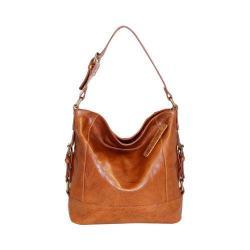 Women's Nino Bossi Sweet Rose Shoulder Bag Cognac