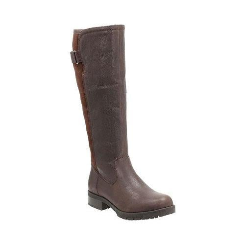 Women's Clarks Faralyn May Waterproof Leather Boots