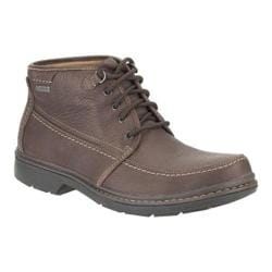 Men's Clarks Rockie Top GTX Brown Leather