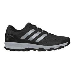 watch 1c125 7b85c Mens adidas Duramo 7 Trail Running Shoe BlackSilver MetallicClear Onix