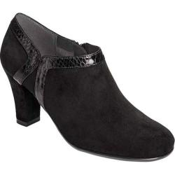 Women's Aerosoles Day Strole Bootie Black Snake